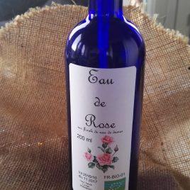 Eau de rose 200 ml +spray